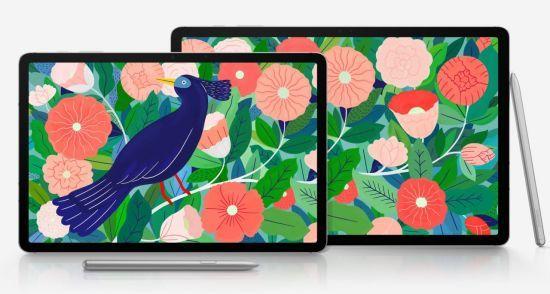 삼성전자 태블릿 '갤럭시탭S7' 예상 렌더링. 에반 블래스 트위터 캡처