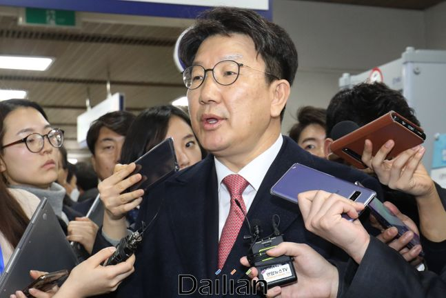 권성동 무소속 의원. ⓒ데일리안 류영주 기자