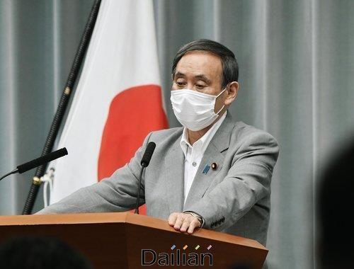 스가 요시히데 일본 관방장관(자료사진) ⓒ연합뉴스