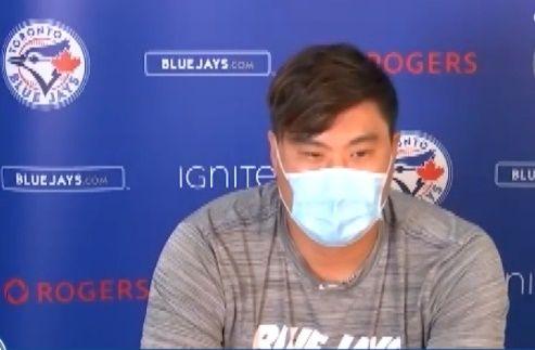 류현진 ⓒ 토론토 블루제이스