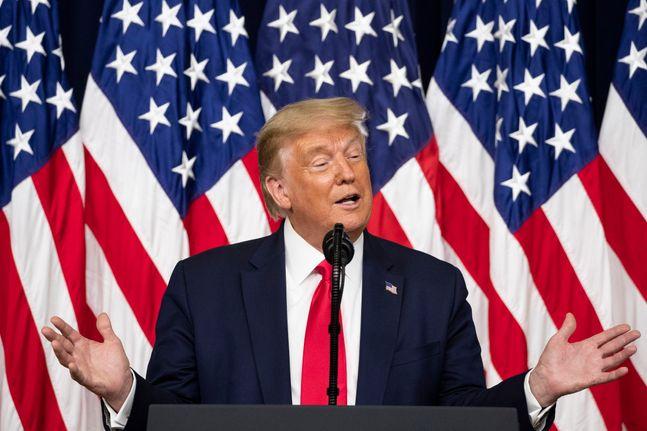 도널드 트럼프 미국 대통령(자료사진). ⓒAP/뉴시스