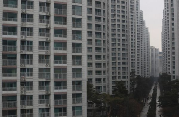 수도권의 한 아파트단지 모습.ⓒ뉴시스