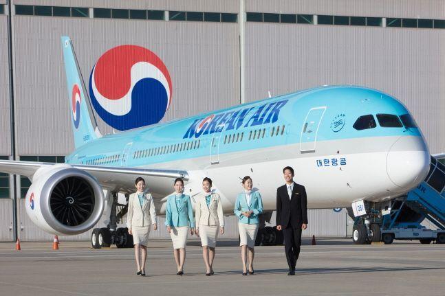 대한항공 보잉 787-9.ⓒ대한항공