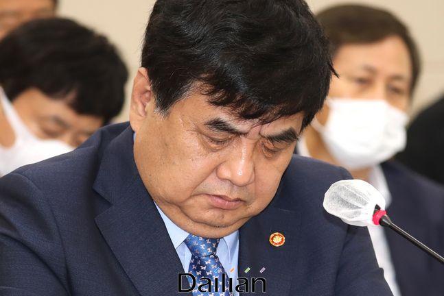 한상혁 방송통신위원장(자료사진) ⓒ데일리안 박항구 기자