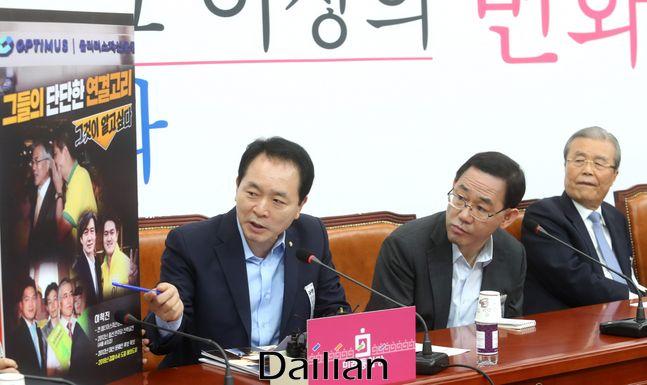 성일종 미래통합당 비상대책위원(사진 왼쪽). ⓒ데일리안 박항구 기자