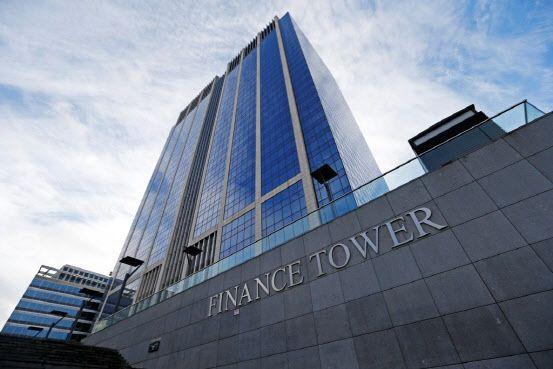 제이알글로벌리츠의 투자자산인 벨기에 파이낸스 타워 전경.ⓒ제이알글로벌리츠