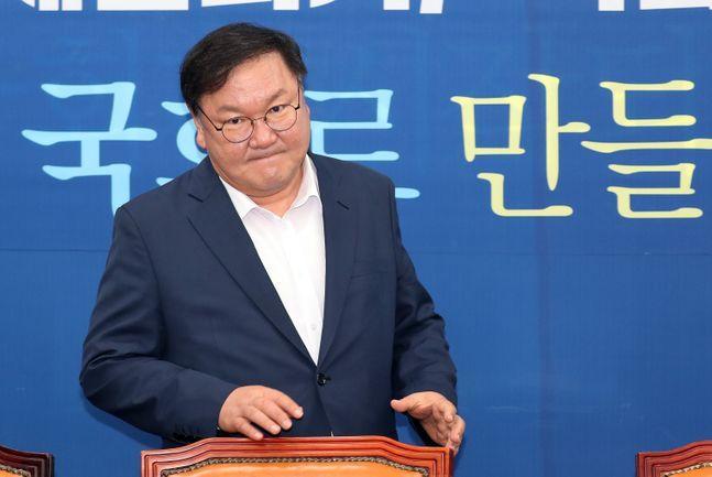 김태년 더불어민주당 원내대표. ⓒ데일리안 박항구 기자