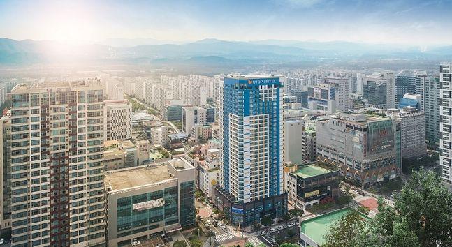 ⓒ사진제공: 광주 유탑 부티크 호텔 & 레지던스
