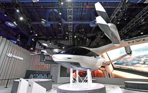 현대자동차가 CES 2020에서 공개한 개인용 비행체(PAV) 콘셉트