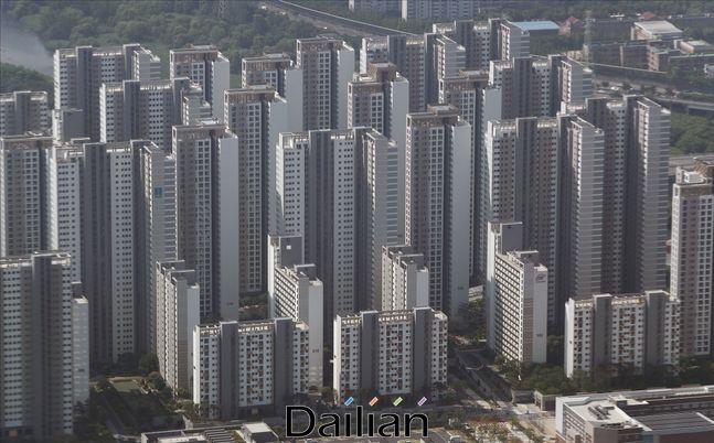 서울 시내의 아파트 전경(자료사진). ⓒ데일리안 홍금표 기자