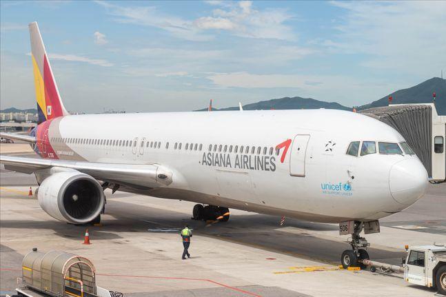 아시아나항공 항공기.ⓒ데일리안 홍금표 기자