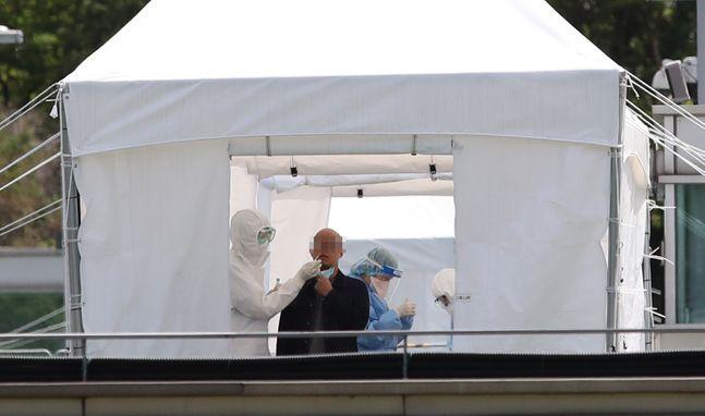 9일 기준 국내 신종 코로나바이러스 감염증(코로나19) 신규 확진자가 36명으로 집계됐다. 교회발 지역감염을 중심으로 국내 확진자 규모가 이틀 연속 30명 수준을 기록했다. (자료사진)ⓒ데일리안 류영주 기자