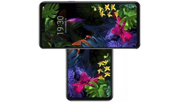 LG전자 하반기 전략 스마트폰 'LG 윙'(가칭) 가상 렌더링. 안드로이드오토리티 홈페이지 캡처