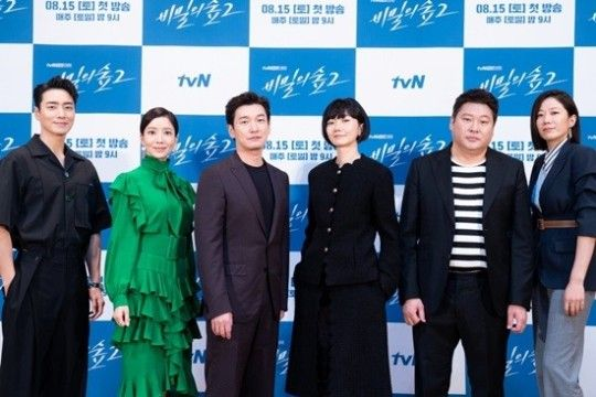 이준혁, 윤세아, 조승우, 배두나, 최무성, 전혜진ⓒtvN