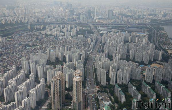서울의 아파트 단지 밀집지역 모습.ⓒ데일리안 류영주기자