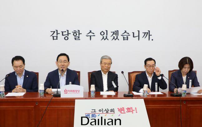 주호영 미래통합당 원내대표가 지난 3일 국회에서 열린 비상대책위원회의에서 발언을 하고 있다.(자료사진) ⓒ데일리안 박항구 기자