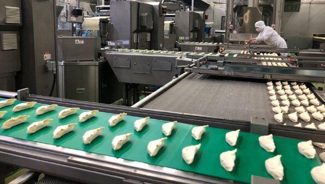 CJ제일제당의 '비비고 군교자'가 인천냉동식품공장에서 생산되고 있다. ⓒCJ제일제당