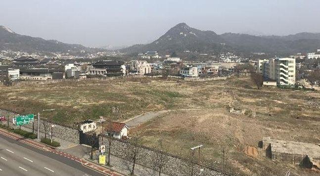 서울시 종로구 송현동 대한항공 부지.ⓒ서울시