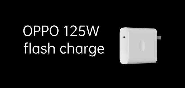 지난 7월 오포가 발표한 125W 급속 충전기.ⓒ오포