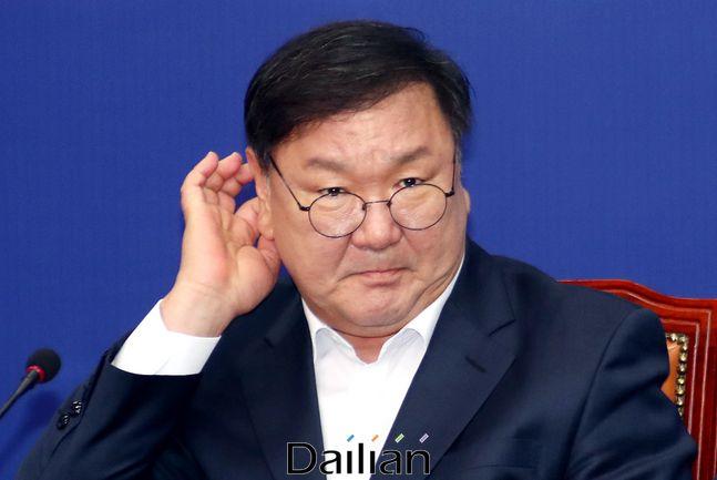 오는 14일 취임 100일을 맞이하는 김태년 더불어민주당 원내대표(자료사진) ⓒ데일리안 박항구 기자