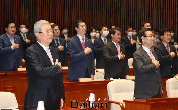 미래통합당 의원총회(자료사진) ⓒ데일리안 박항구 기자