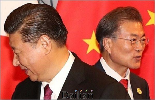문재인 대통령과 시진핑 중국 국가주석(자료사진). ⓒ연합뉴스