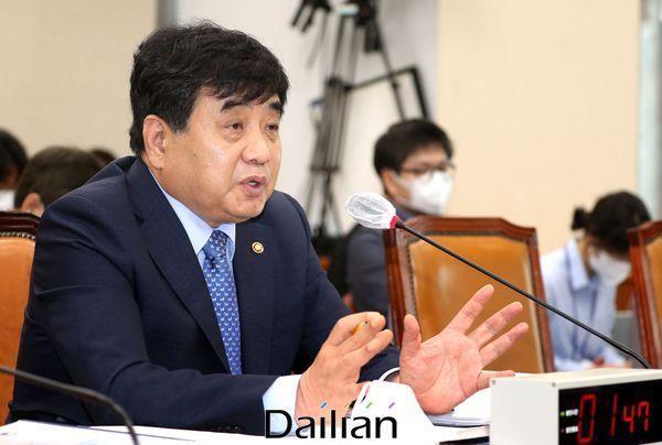 한상혁 방송통신위원장.(자료사진)ⓒ데일리안 박항구 기자