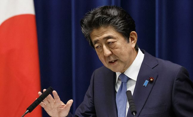 아베 신조 일본 총리.ⓒ뉴시스