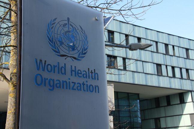 스위스 제네바에 있는 세계보건기구 본부 전경.ⓒ신화/뉴시스