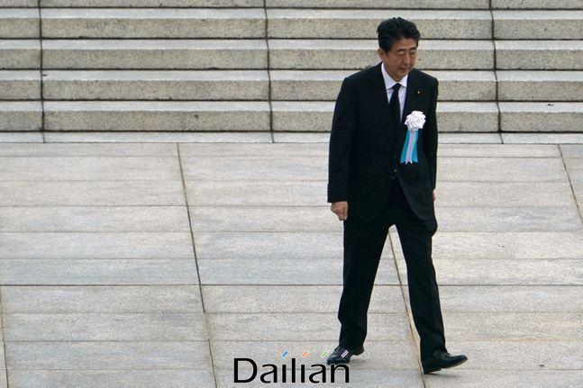 아베 신조 일본 총리(자료사진). ⓒAP/뉴시스