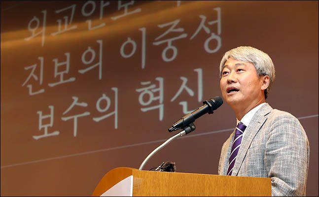 김근식 경남대 정치외교학과 교수(미래통합당 서울 송파병 당협위원장) ⓒ데일리안 박항구 기자
