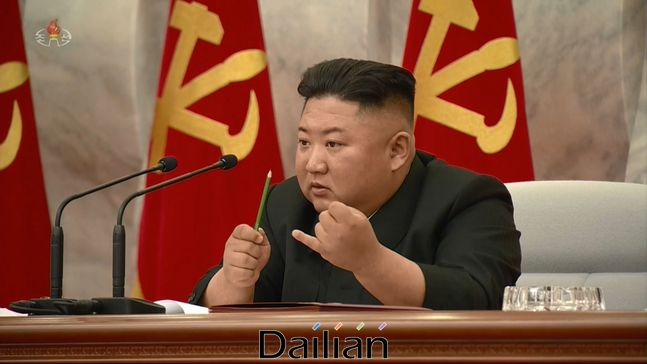 김정은 북한 국무위원장(자료사진) ⓒ조선중앙TV 화면 갈무리