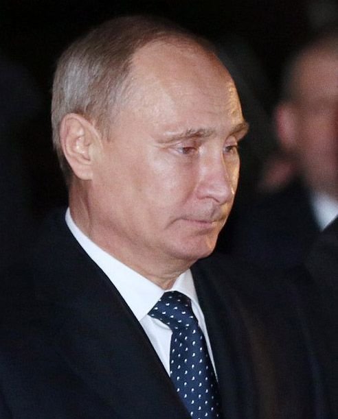 블라디미르 푸틴 러시아 대통령의 정적으로 꼽히는 야권 운동가 알렉세이 나발니(44)가 의식불명 상태로 병원 중환자실(ICU)에 입원했다고 그의 대변인 키라 야르미슈가 20일(현지시간) 밝혔다. 사진은 블라디미르 푸틴 러시아 대통령. ⓒ연합뉴스
