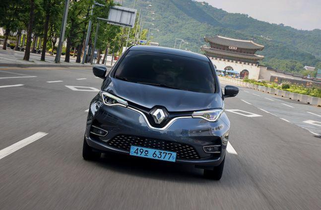 르노 조에(Renault ZOE) 주행사진ⓒ르노삼성자동차