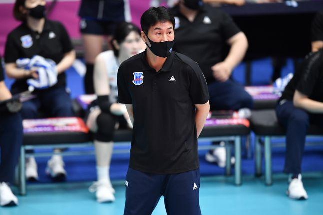 IBK기업은행 김우재 감독. ⓒ KOVO