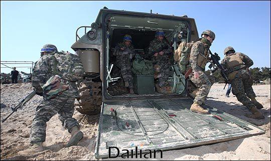 한미연합훈련이 진행되고 있는 모습(자료사진). ⓒ데일리안