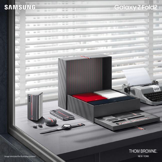 삼성 갤럭시 Z 폴드2 톰브라운 에디션.ⓒ삼성전자