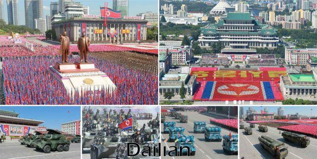 북한이 지난 2018년 9월 9일 조선민주주의인민공화국 창건 70주년을 맞아 진행한 열병식 및 평양시 군중시위(자료사진) ⓒ노동신문