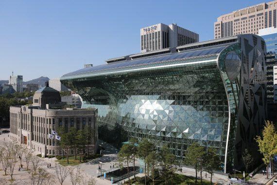 서울시청 전경. ⓒ서울시