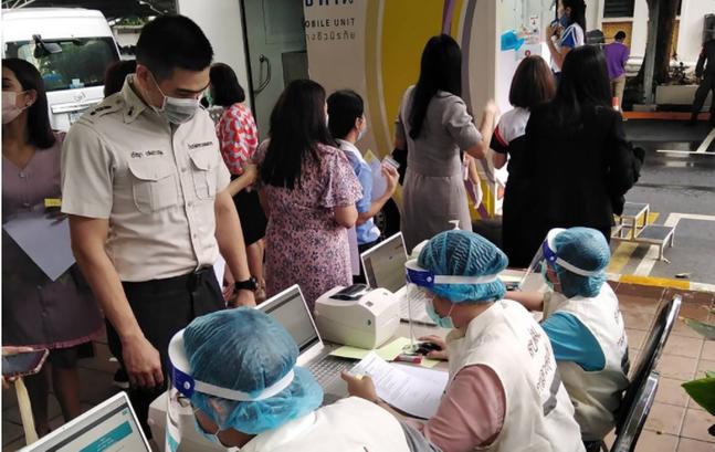태국에서 100일 만에 코로나19 국내감염이 발생했다.(자료사진)ⓒAP=연합뉴스 자료 사진