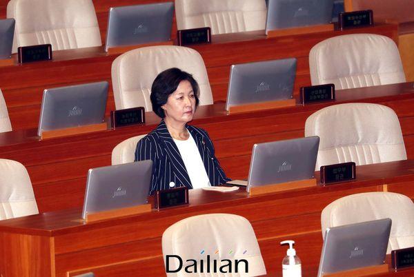 추미애 법무부 장관. ⓒ데일리안 박항구 기자