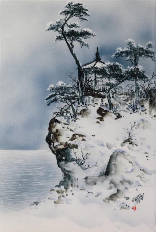 세한삼우 -송(松), 2017년 作 ⓒ갤러리K