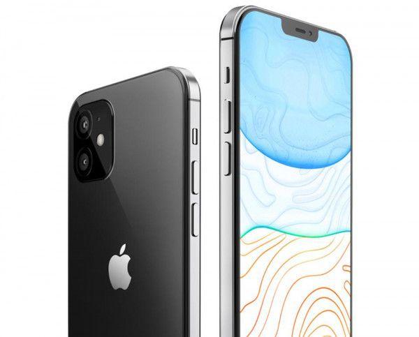 애플 스마트폰 '아이폰12' 렌더링. 폰아레나 홈페이지 캡처