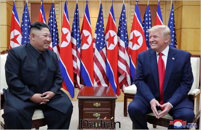 도널드 트럼프 미국대통령과 김정은 북한 국무위원장(자료사진). ⓒ조선중앙통신