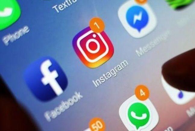 페이스북(왼쪽) 스마트폰용 아이콘.(자료사진)ⓒ연합뉴스