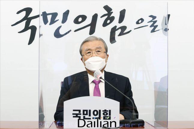 김종인 국민의힘 비상대책위원장(자료사진) ⓒ데일리안 홍금표 기자