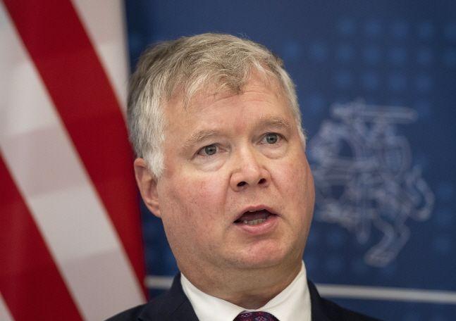 스티븐 비건 미국 국무부 부장관.ⓒAP/뉴시스