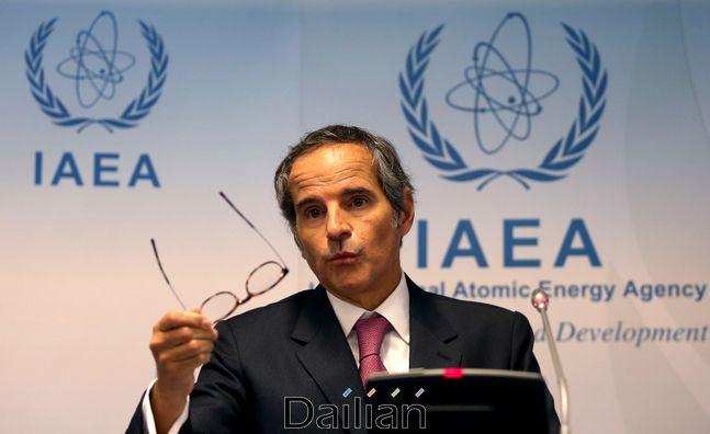라파엘 그로시 국제원자력기구(IAEA) 사무총장(자료사진). ⓒAP/뉴시스