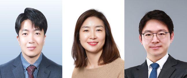 서경배과학재단 2020년선정자 노성훈 교수, 이주현 교수, 조원기 교수.ⓒ아모레퍼시픽