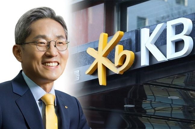 윤종규(사진) KB금융그룹 회장이 3연임을 사실상 확정지었다.ⓒKB금융그룹